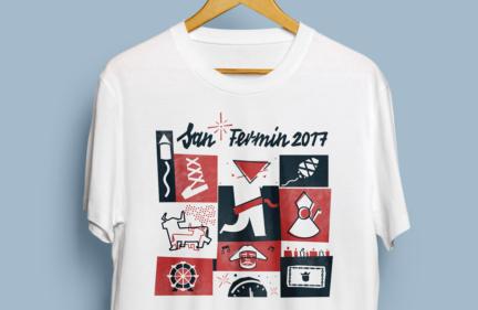 Camiseta San Fermín 2017