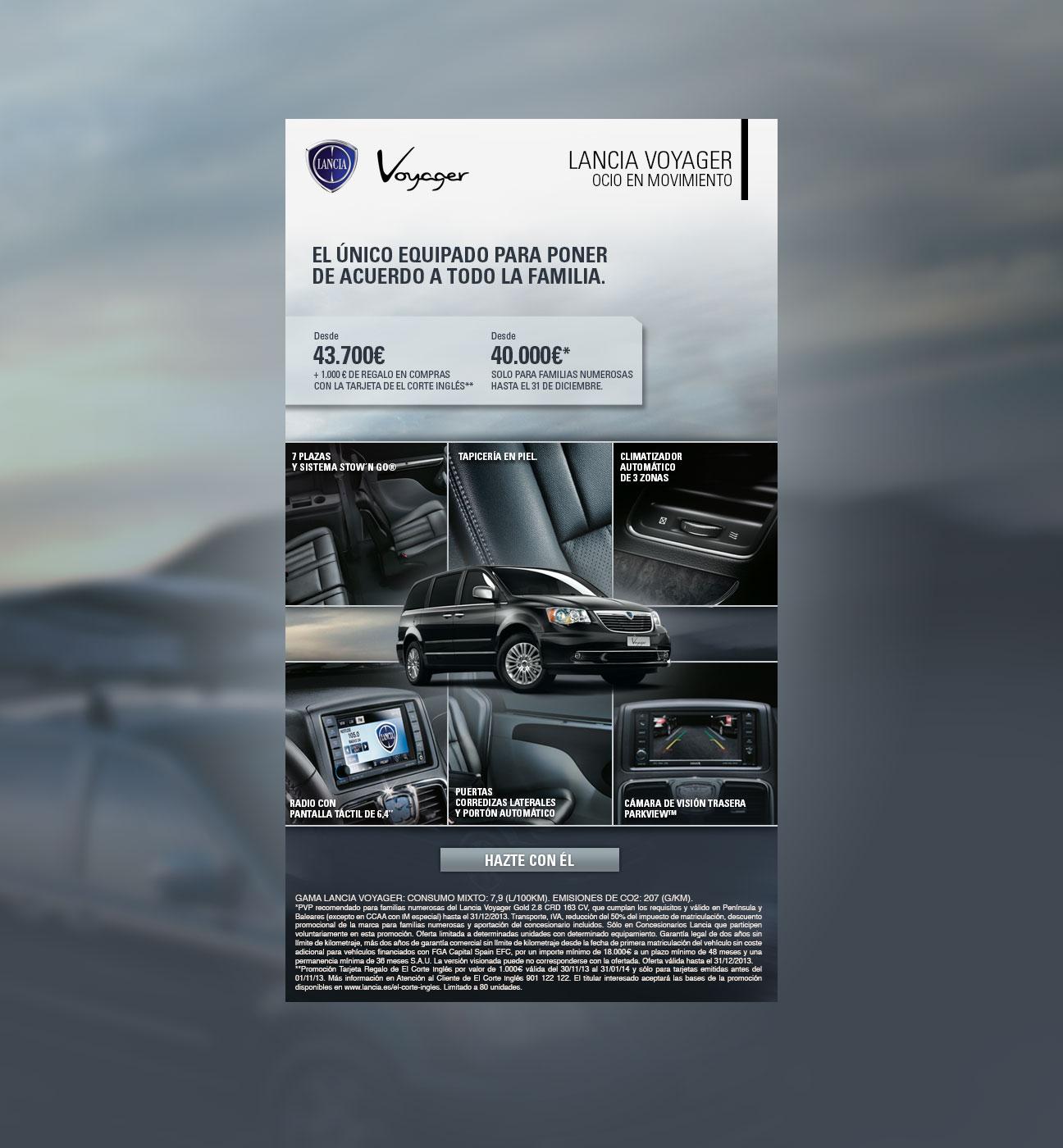 Mailing Lancia Voyager